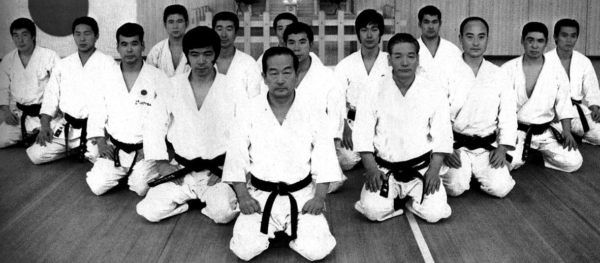 Немного о японском каратэ